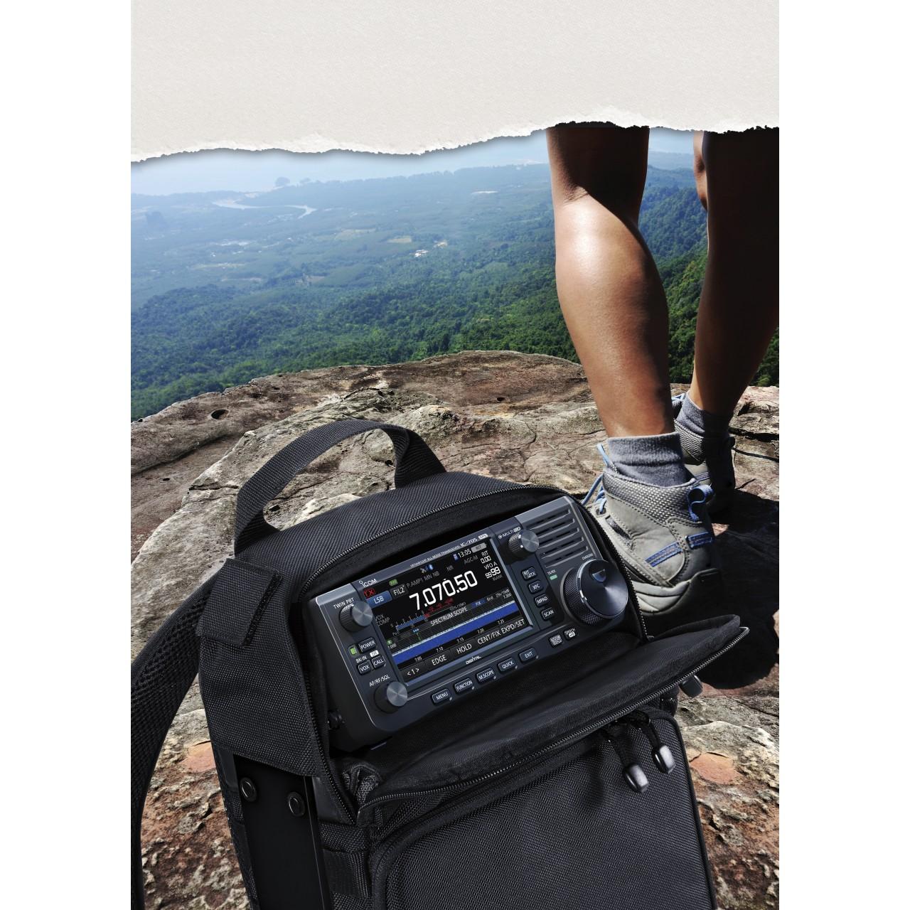 IC-705 à la montagne