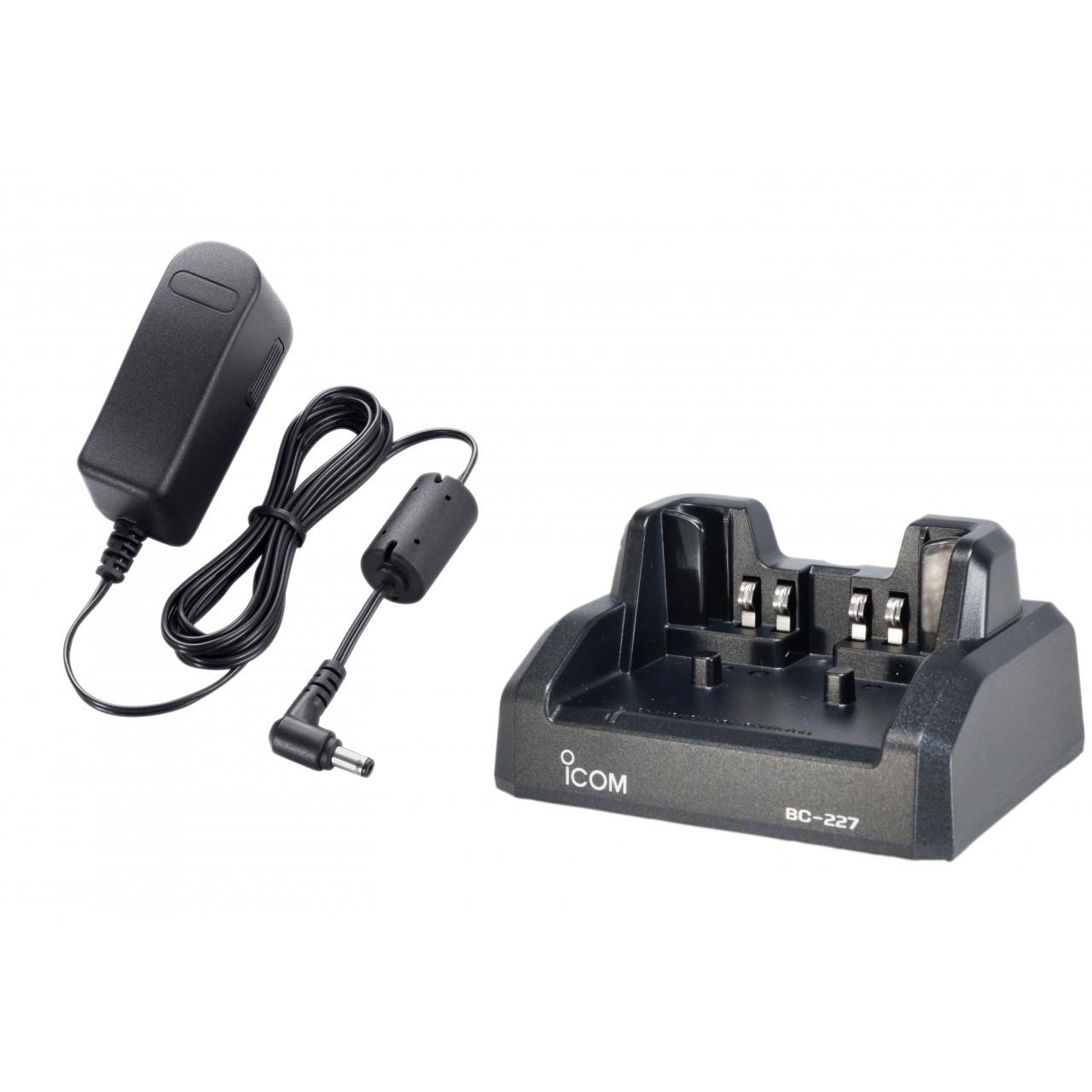 BC-227 Chargeurs et alimentations - ICOM