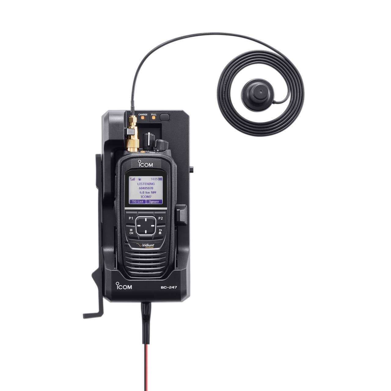 BC-247 Chargers and alimentations - ICOM