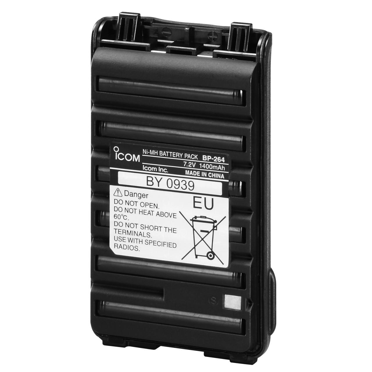 BP-264 Batteries et boitiers piles - ICOM