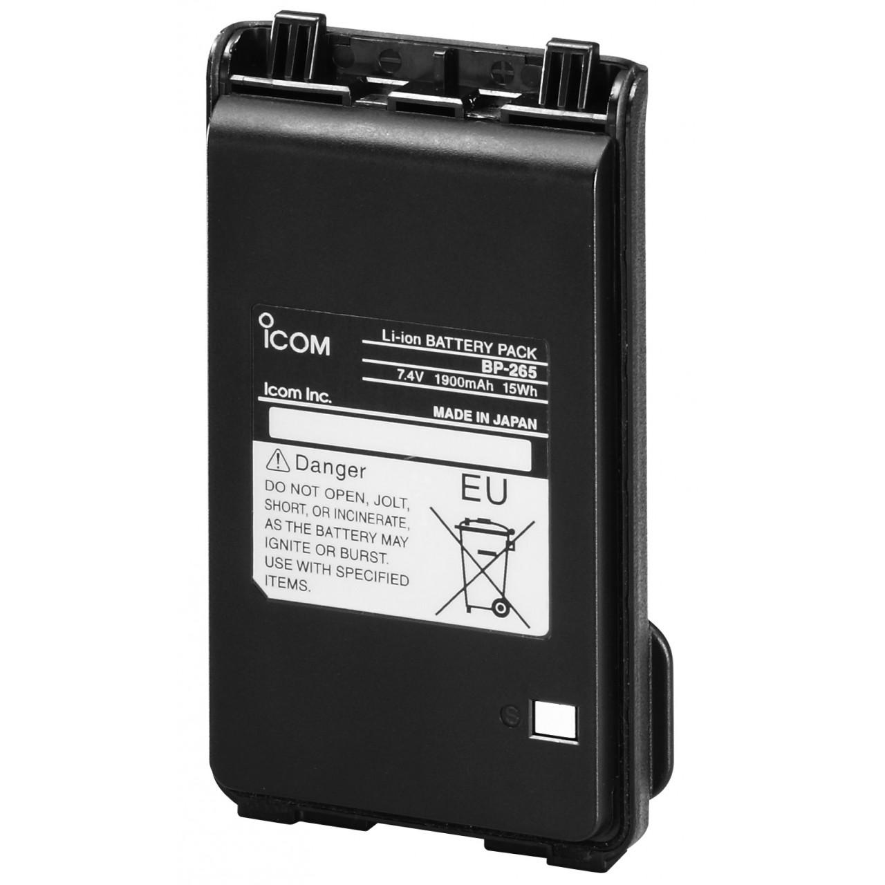 BP-265 Batteries et boitiers piles - ICOM