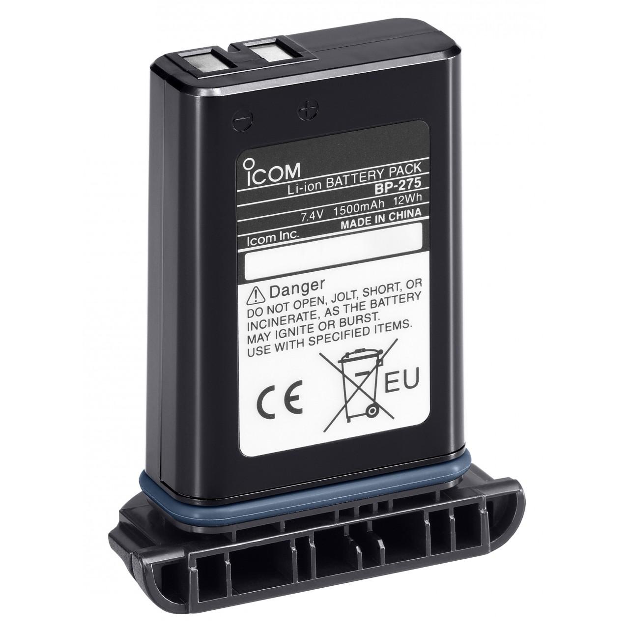 BP-275 Batteries et boitiers piles - ICOM
