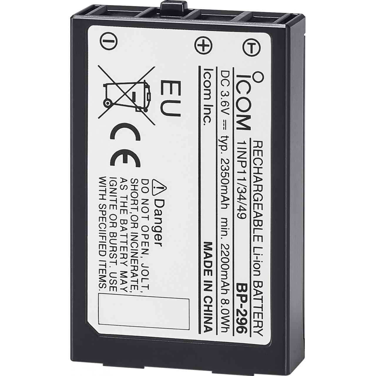 BP-296 Batteries et boitiers piles - ICOM