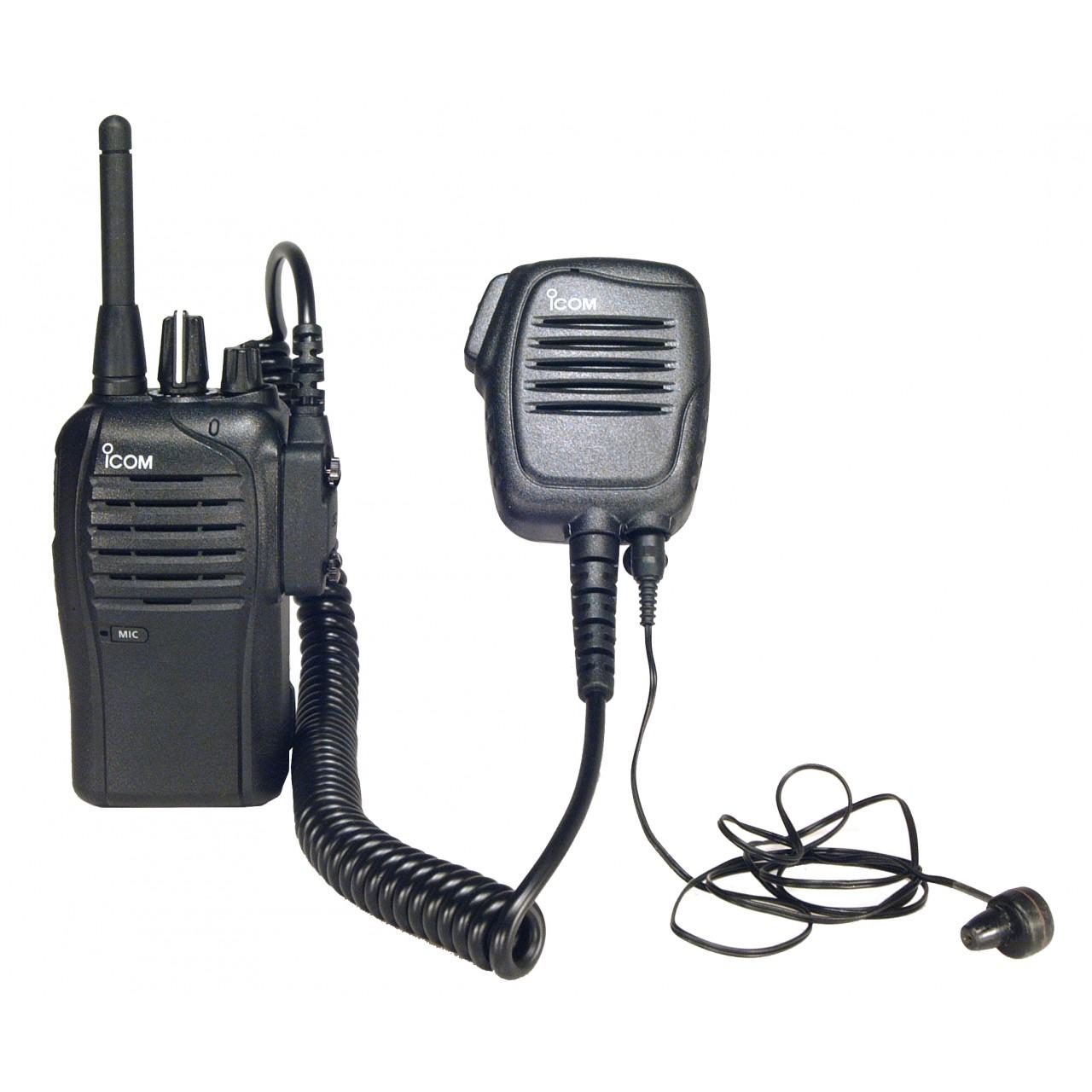 IC-F27SR avec microphone HM-159LA et oreillette SP-13