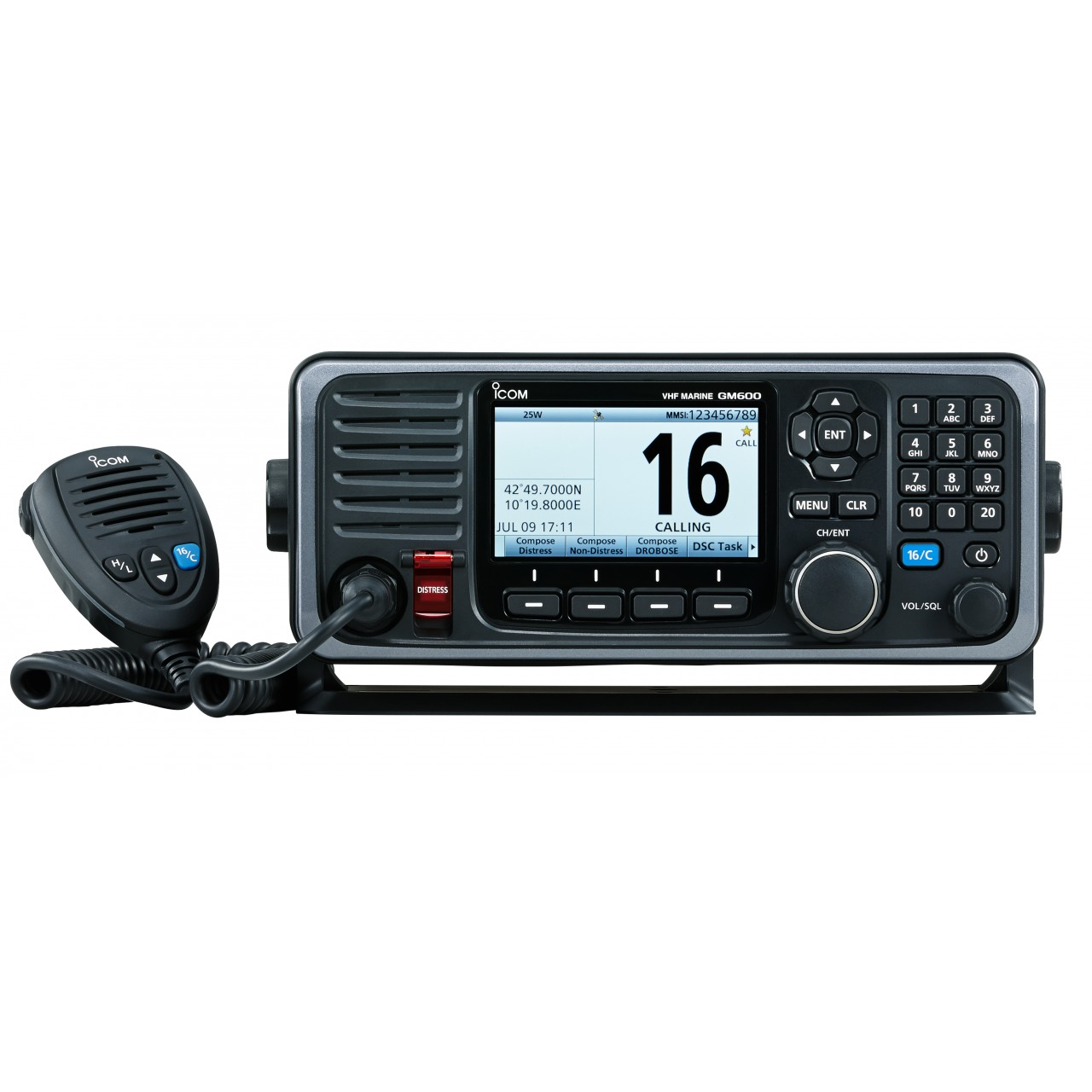 GM600 Fixes - ICOM