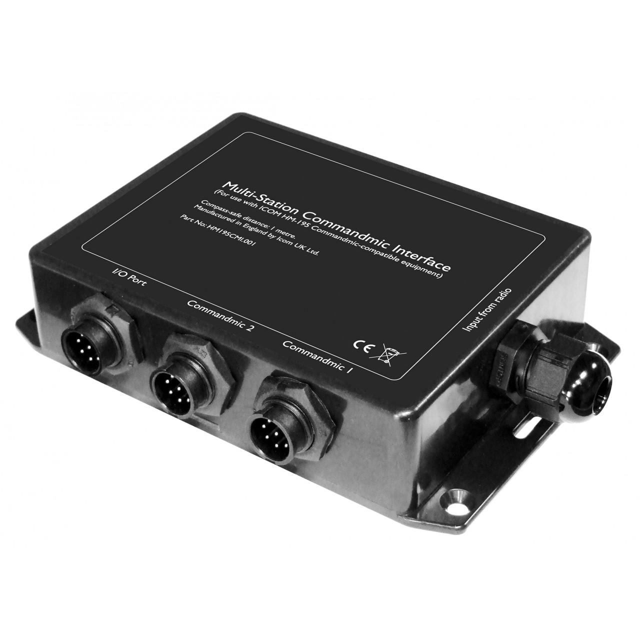 HM-195CMI Microphones - ICOM