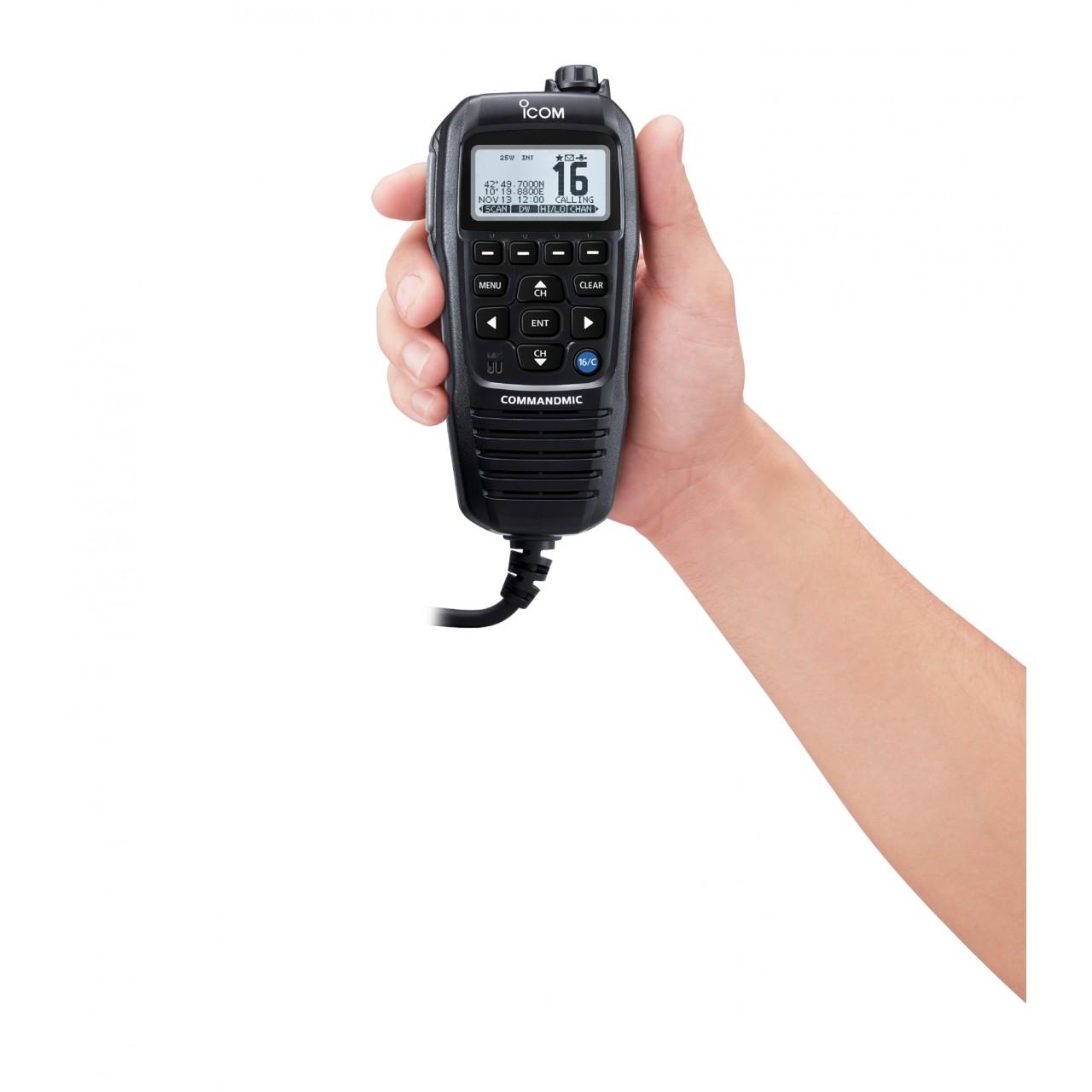 HM-195GB Microphones - ICOM