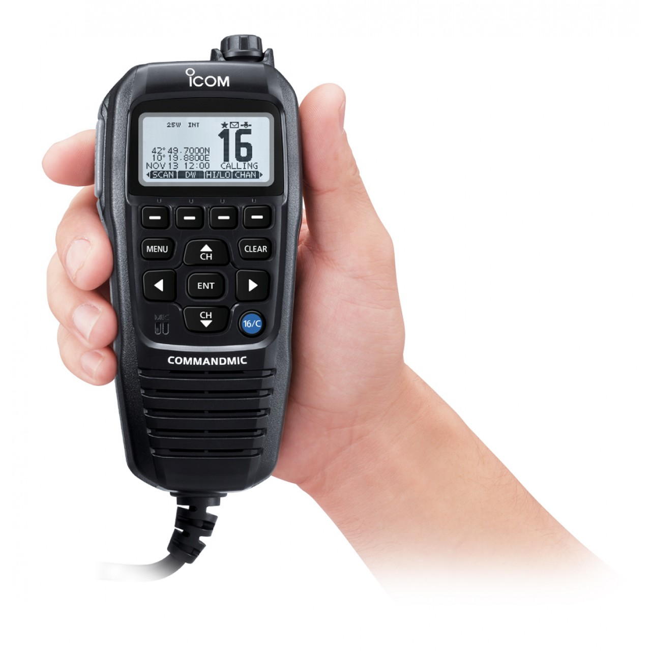 HM-229B Microphones - ICOM