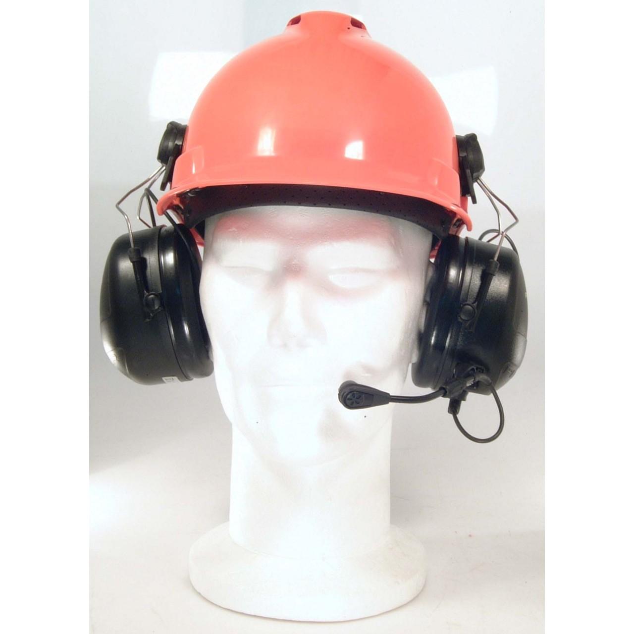 HS-PEPEAACC avec casque chantier HS-PEOR