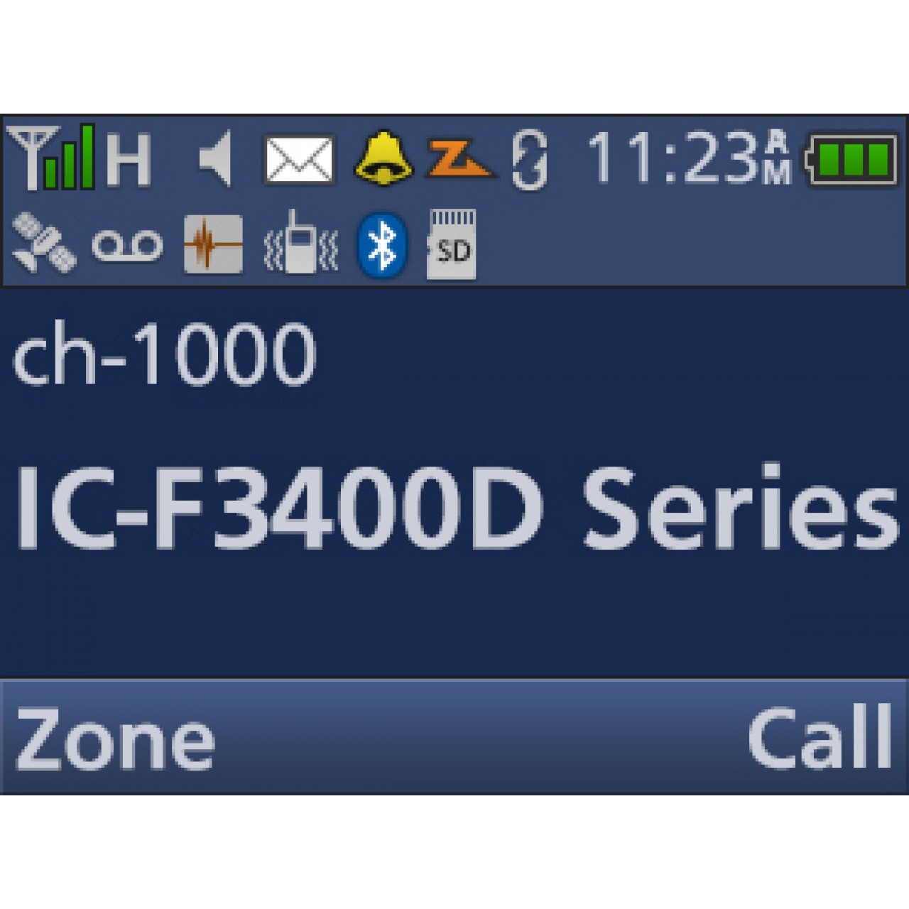 IC-F3400DPS Handhelds - ICOM