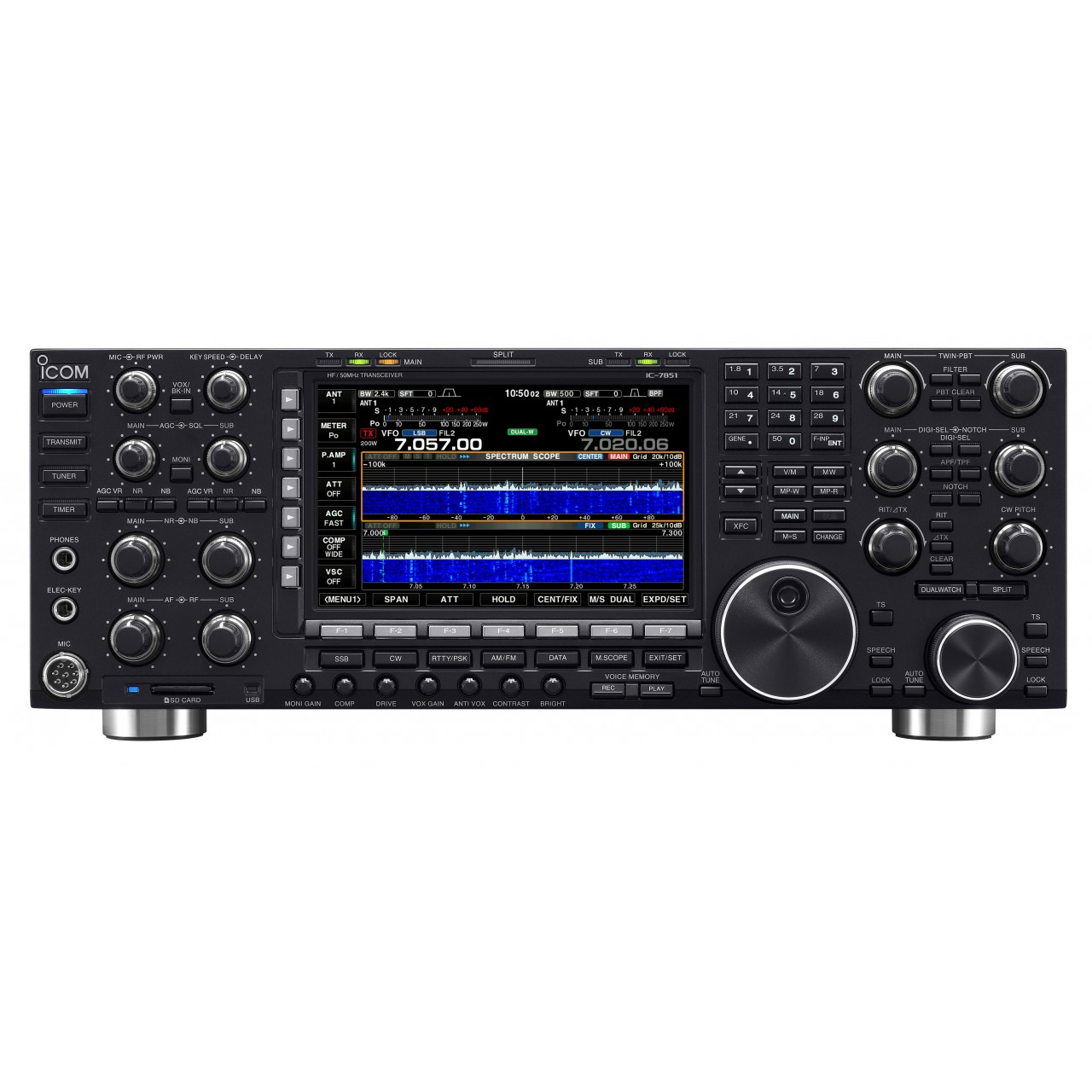 IC-7851 Fixed stations / HF - ICOM