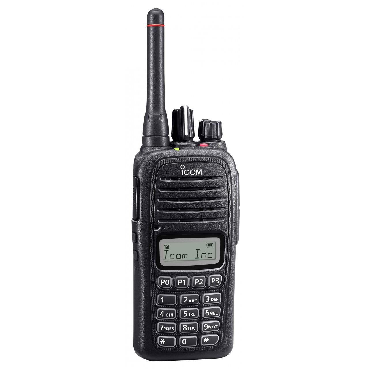 IC-F1100DT / IC-F2100DT avec antenne courte