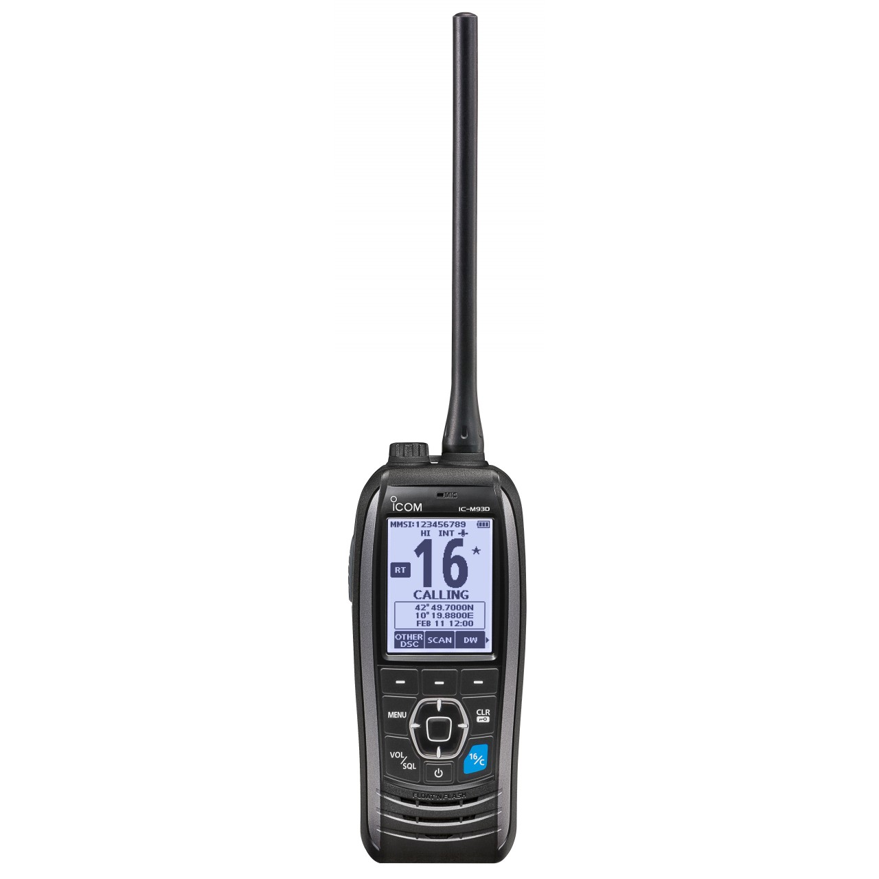 IC-M93DEURO Handhelds - ICOM