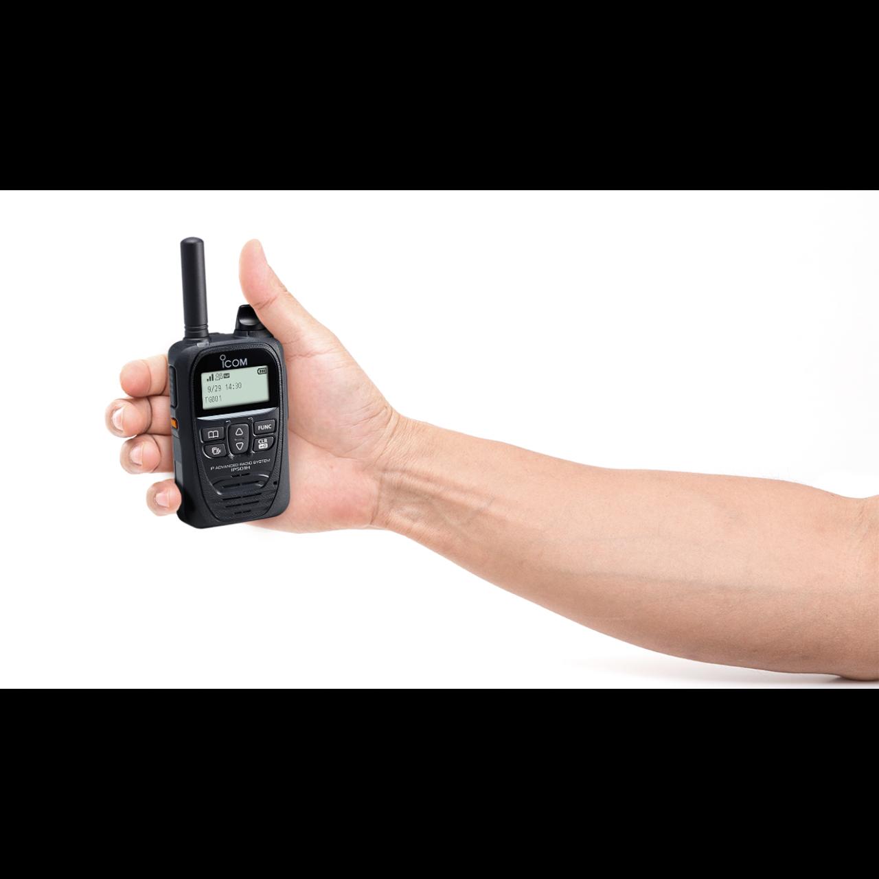 IP501H dans la main