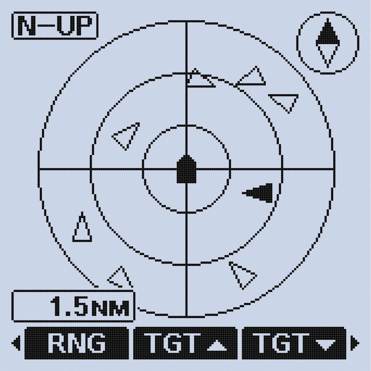 VHF marine IC-M94DE. AIS
