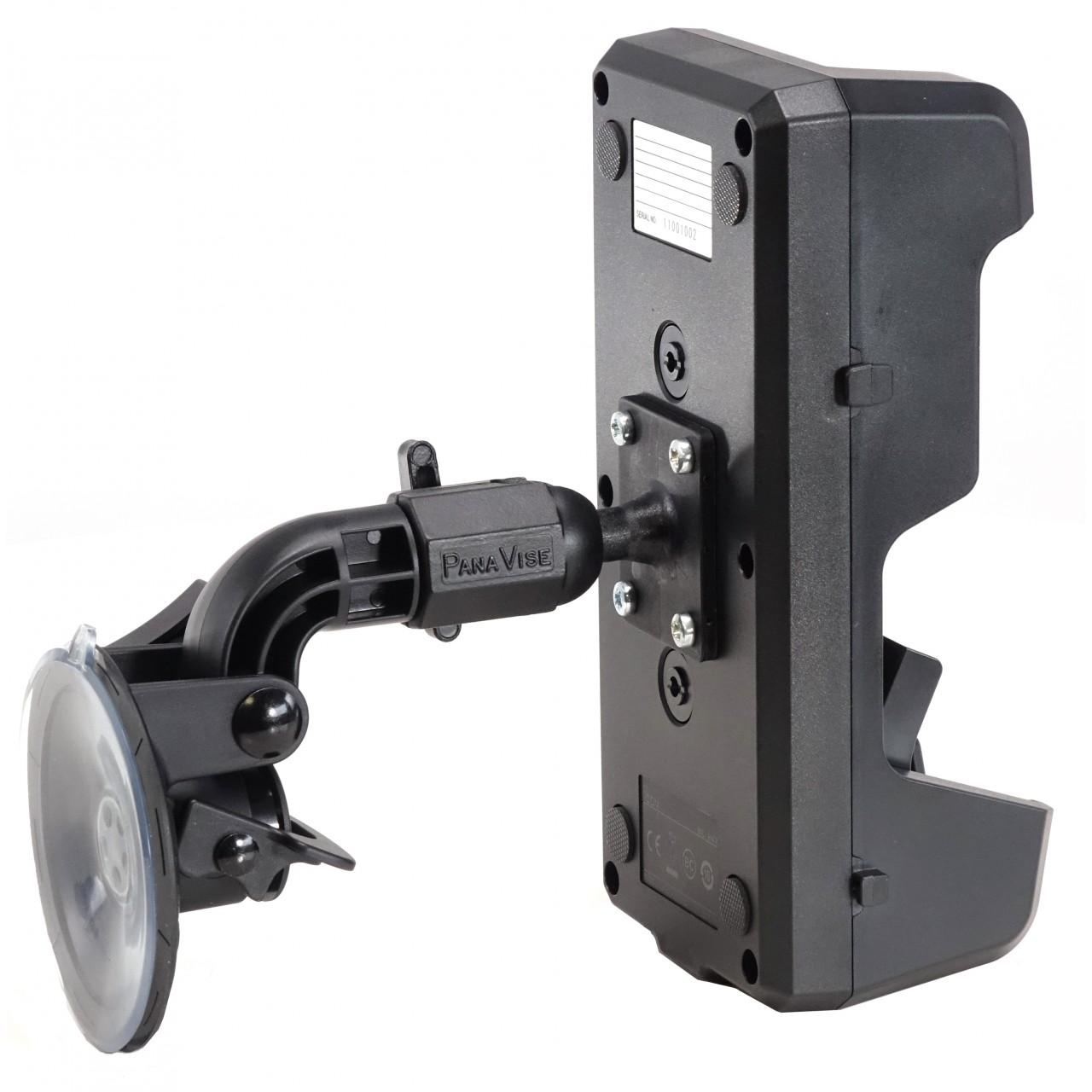 Support à ventouse pour chargeur BC-247. Présenté avec chargeur BC247.