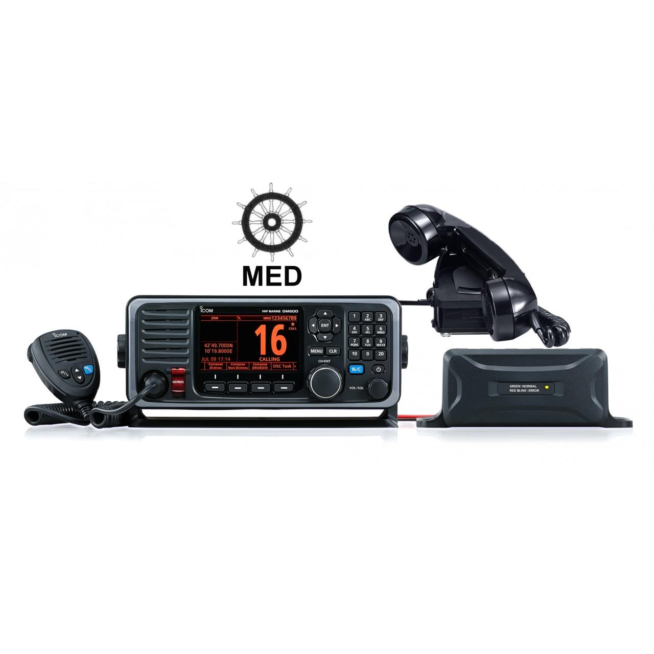 PACK-GM600 12V Fixes - ICOM