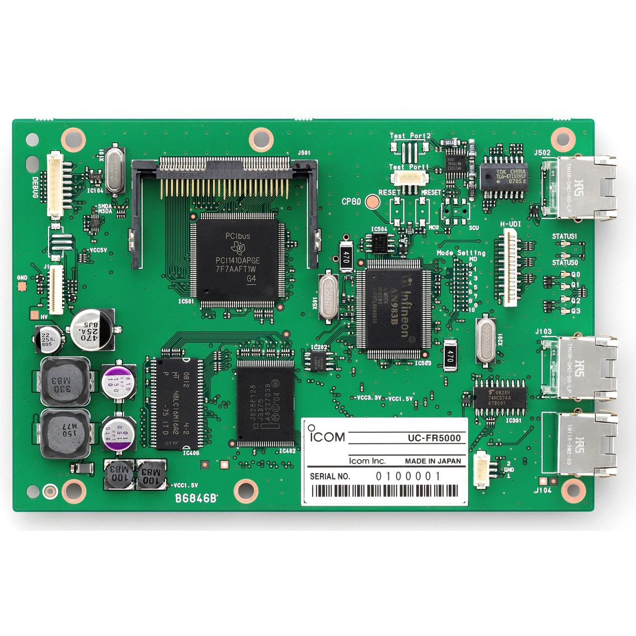 UC-FR5000 Interfaces - ICOM