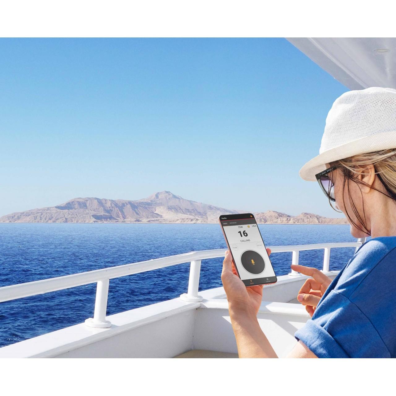 IC-M510E : Commandez et Appelez depuis votre smartphone