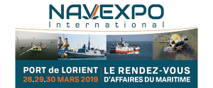 Illustration Salon NAVEXPO 2019 au Port Lorient