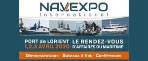 Illustration Salon NAVEXPO 2020 au Port Lorient