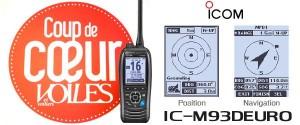Illustration VHF ICOM IC-M93DEURO COUP DE COEUR VOILES ET VOILIERS