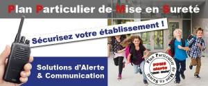 Illustration PPMS Alerte Ecole : Solutions innovantes Icom France