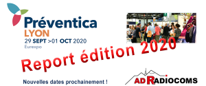 Illustration Preventica Lyon  - Exhibit 2020 postponed