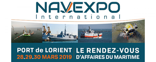 Salon NAVEXPO 2019 au Port Lorient