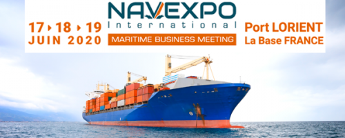 Salon NAVEXPO 2020 au Port Lorient