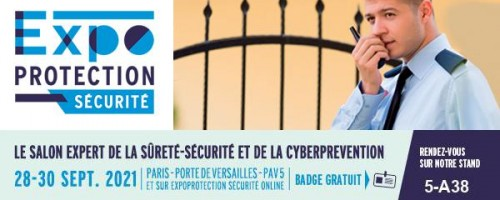 Expoprotection 2021 in Paris