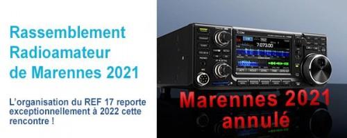 Marennes 2021 annulé