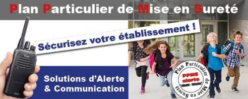 PPMS Alerte Ecole : Solutions innovantes Icom France