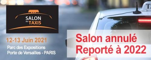 Salon des Taxis 2021 annulé