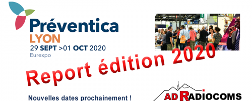 Salon Preventica Lyon 2020 reporté