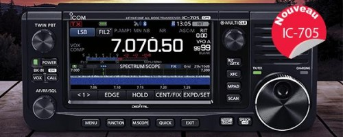 IC-705 Mobile transceiver
