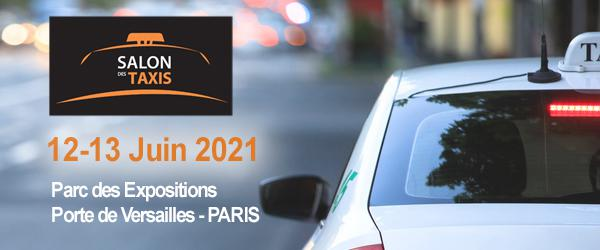 Illustration Taxi Trade Fair in Paris 2021