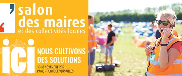 Illustration Salon des Maires & Collectivités Locales 2021