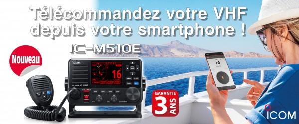 Illustration Nouvelle VHF marine fixe IC-M510E