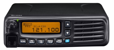 mobile aviation IC-A120E partenariat icom Partnerships ICOM