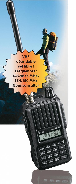 vhf-vol-libre-ffvl Focus vol libre ICOM