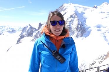 Oceane directrice chamoniarde Cas pratique : Secours en montagne ICOM