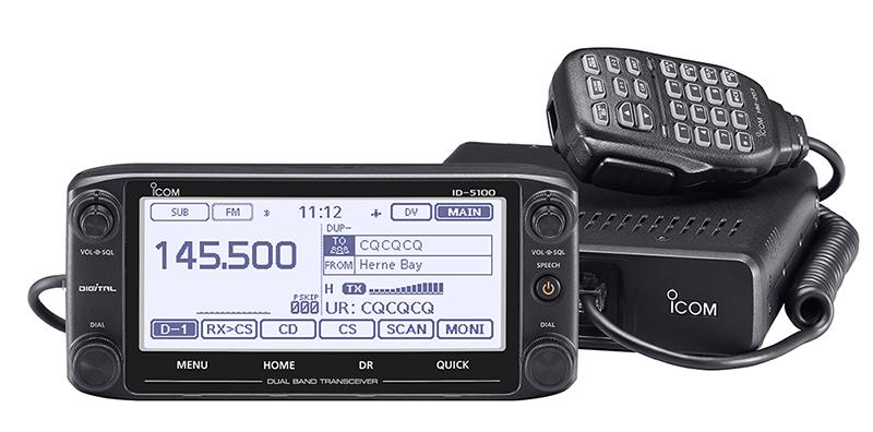 id-5100e-petite Focus ID-5100E et IC-7100 ICOM