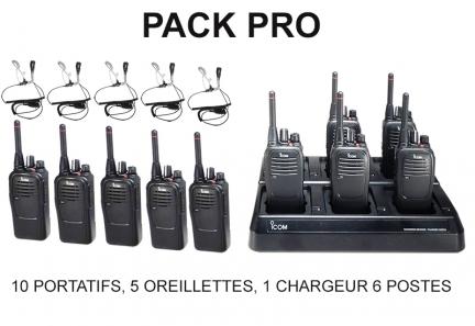 pack talkie-walkies professionnels icom location Locations ICOM
