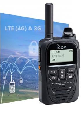 Radio lte fond bleu LTE ICOM