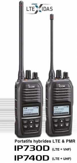 portatifs2 LTE ICOM
