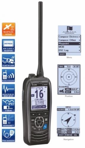 vhf portable icom IC-M93D EURO Marine ICOM