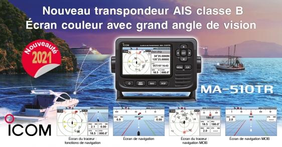 transpondeur-ma510trè Marine ICOM