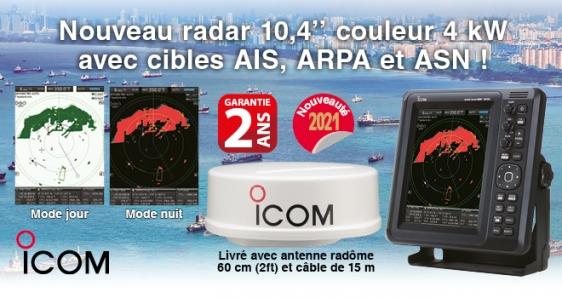 Radar-mr1010r2-icom Marine ICOM