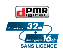 logo dpmr446 pmr446 Sans licence ICOM